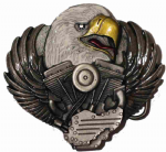 Eagle Head / Motorbike Engine Belt Buckle. Code CE2